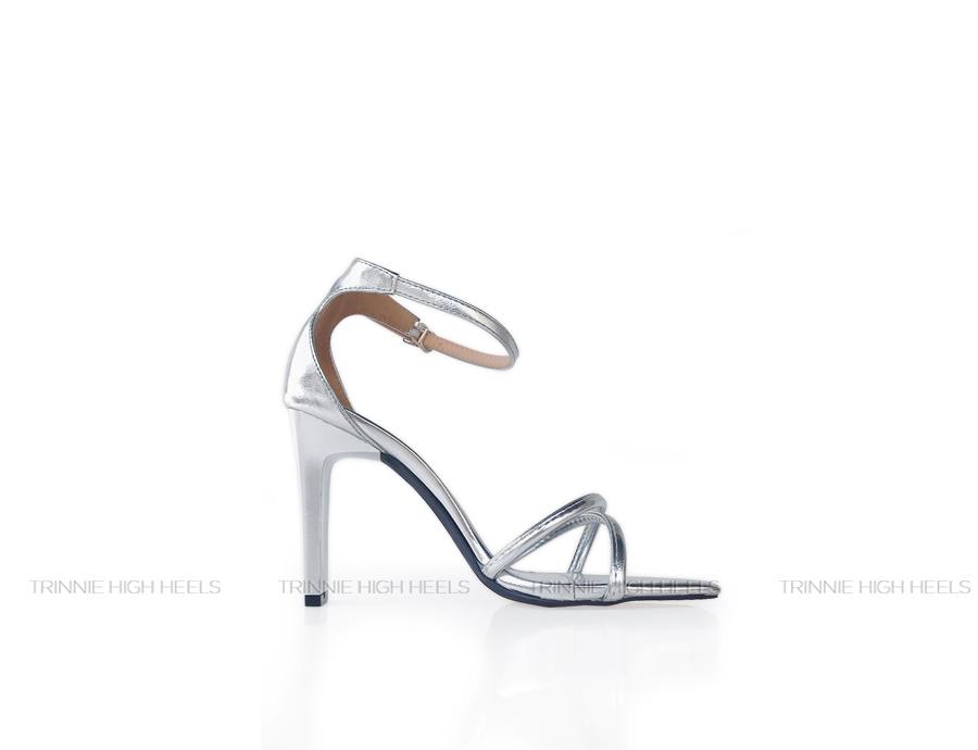 Giày cao gót Ankle Strap AGV-2DC09BA