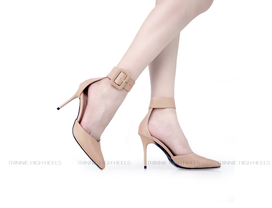 Giày cao gót Ankle Strap AGN-KBV11DM