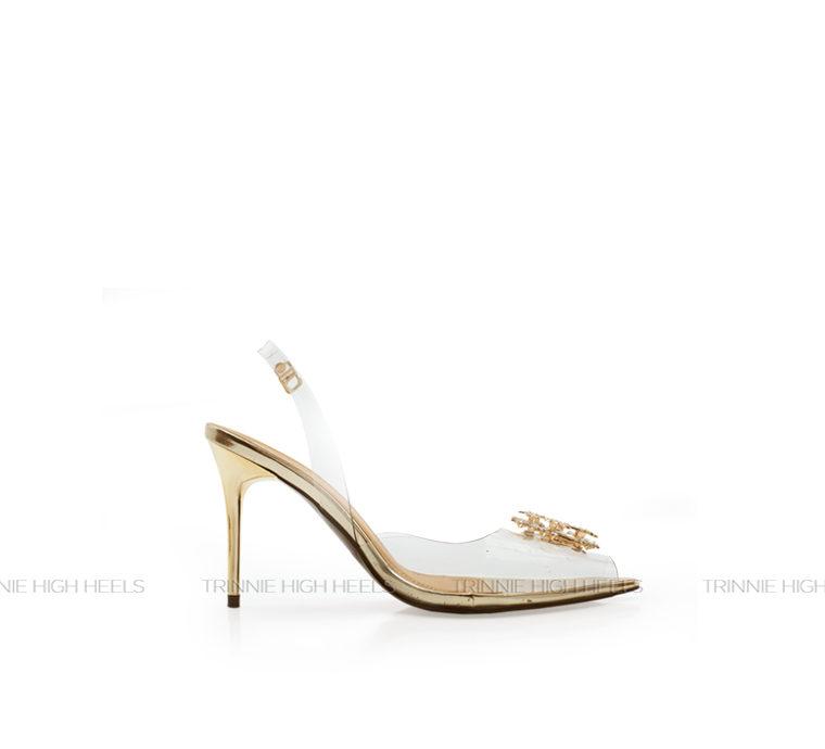Giày cao gót Slingback SBN-DD11DN