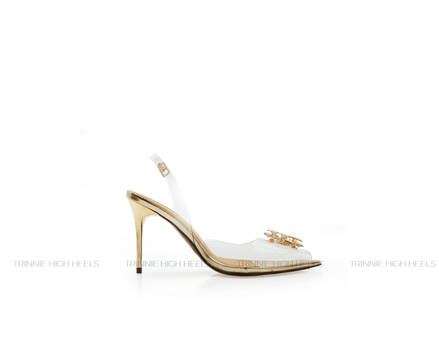 Giày cao gót Slingback SBN-DD11TR