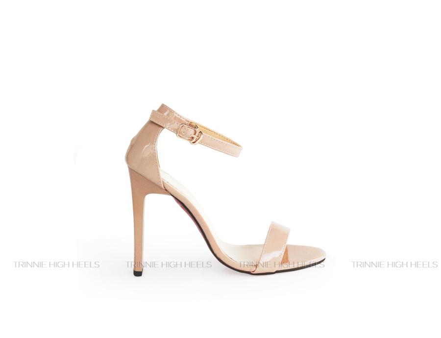 Giày cao gót Ankle Strap AGV-NM11NB