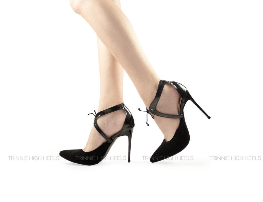 Giày cao gót Ankle Strap AGN-OU1DG09DB