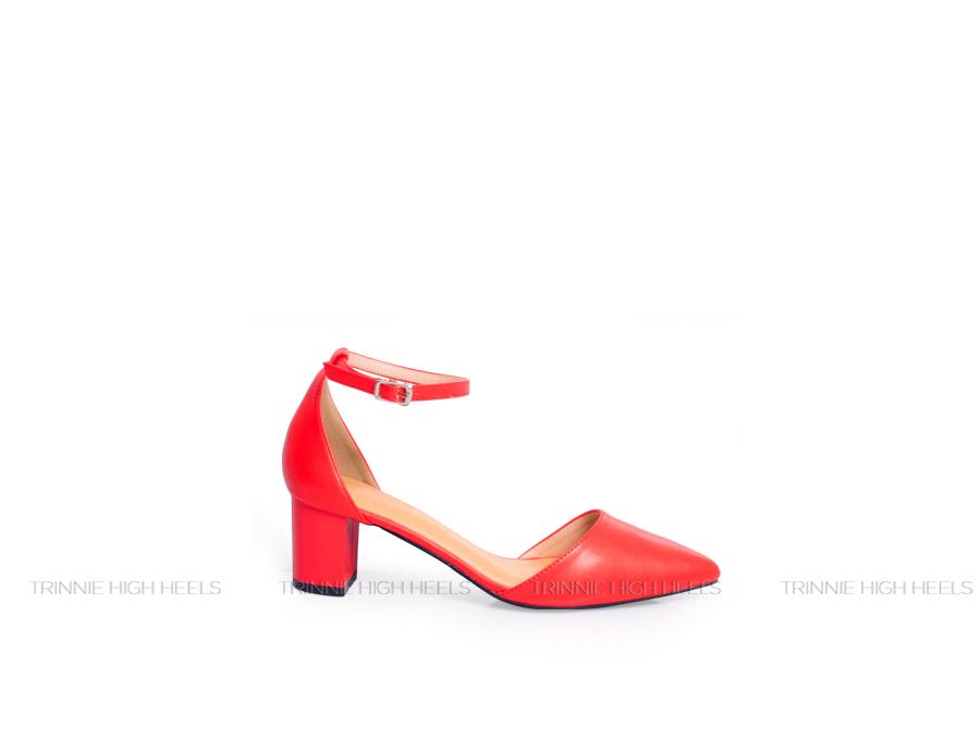 Giày cao gót Ankle Strap AGT-OU03DO