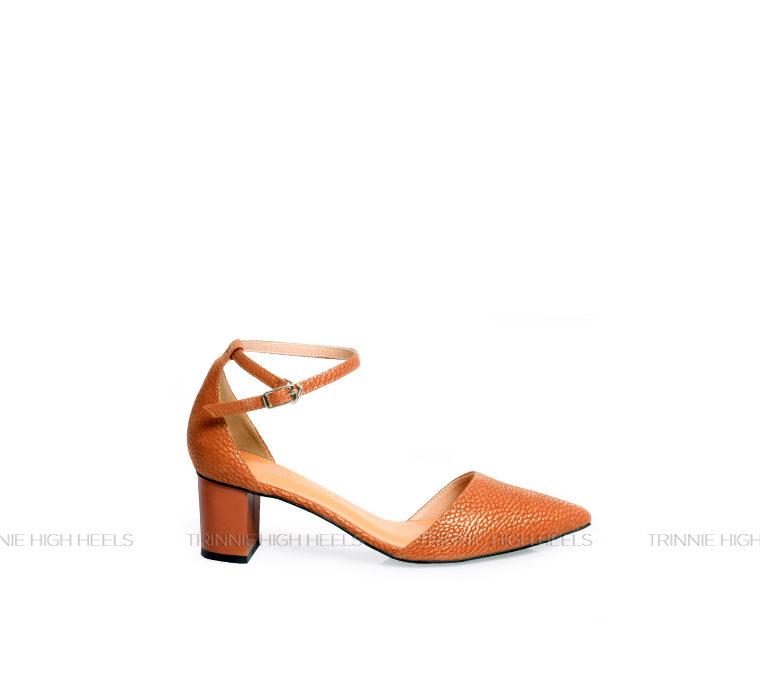 Giày cao gót Ankle Strap AGT-OU03NA