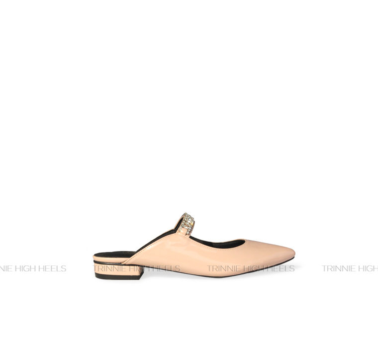 Giày Mules bệt OU-XNNB