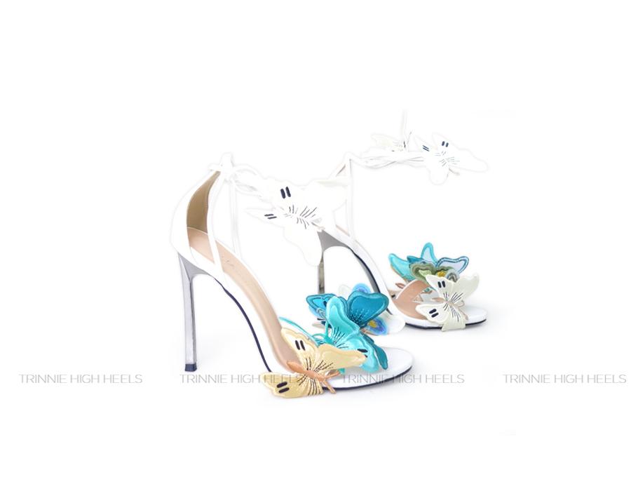 Giày cao gót Sandals Metallic BUOM11DM