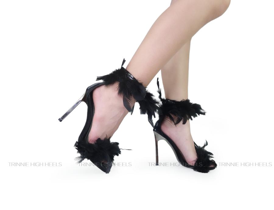 Giày cao gót Ankle Strap CN-AGSNMLVDE11