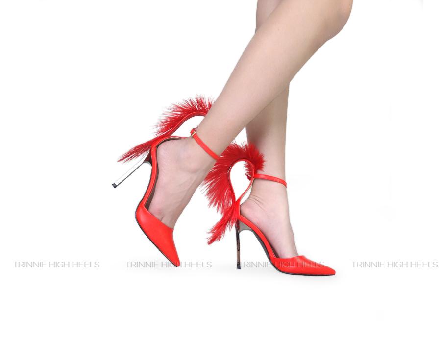 Giày cao gót Ankle Strap PH-AGSBMPLC11DO