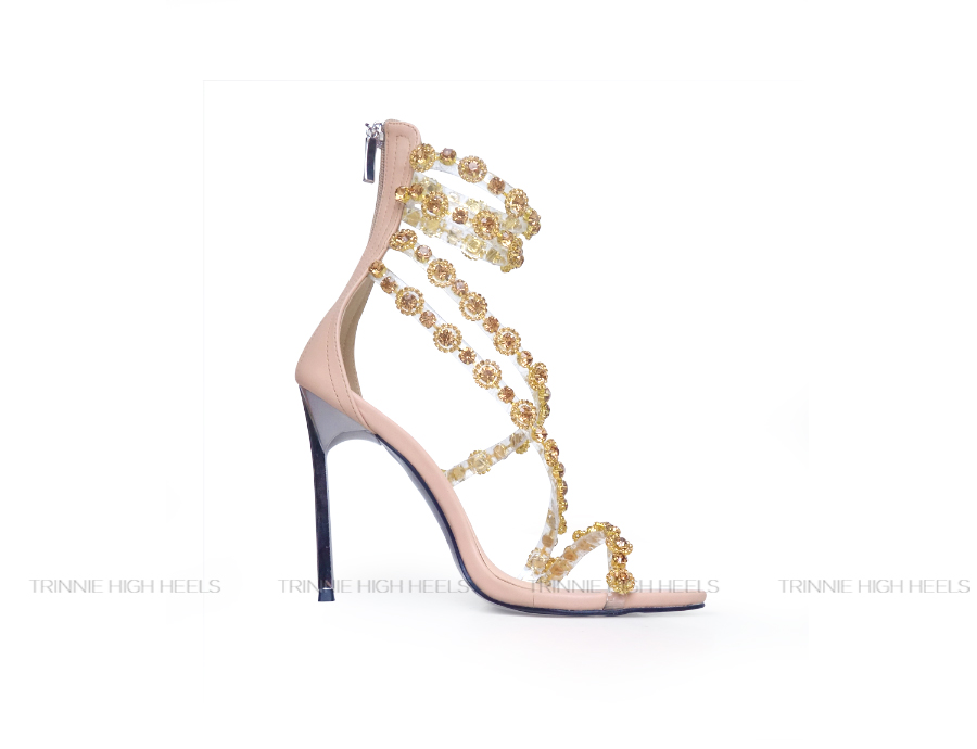 Giày cao gót Ankle Strap PH-AGSDD11NU